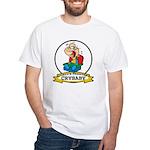 WORLDS GREATEST CRYBABY CARTOON White T-Shirt