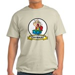 WORLDS GREATEST CRYBABY CARTOON Light T-Shirt