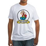 WORLDS GREATEST CRYBABY CARTOON Fitted T-Shirt
