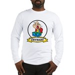 WORLDS GREATEST CRYBABY CARTOON Long Sleeve T-Shir