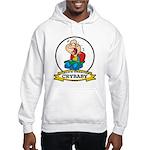 WORLDS GREATEST CRYBABY CARTOON Hooded Sweatshirt