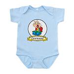 WORLDS GREATEST CRYBABY CARTOON Infant Bodysuit