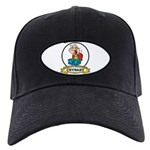 WORLDS GREATEST CRYBABY CARTOON Black Cap