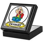 WORLDS GREATEST CRYBABY CARTOON Keepsake Box
