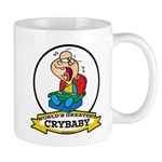 WORLDS GREATEST CRYBABY CARTOON Mug