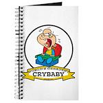 WORLDS GREATEST CRYBABY CARTOON Journal