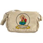 WORLDS GREATEST CRYBABY CARTOON Messenger Bag