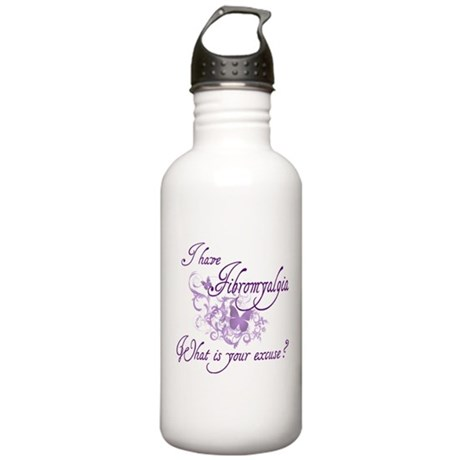 What is your excuse?? Stainless Water Bottle 1.0L
