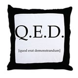 Q.E.D. Throw Pillow