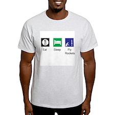 T-Shirt, Eat, Sleep, Fly Rockets