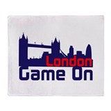 London Game On Throw Blanket