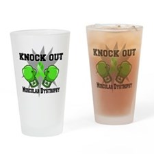 Knock Muscular Dystrophy Drinking Glass