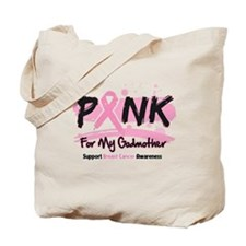 Breast Cancer Pink Godmother Tote Bag