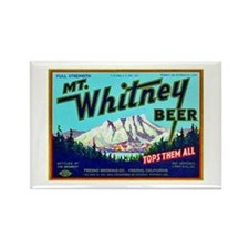 California Beer Label 7 Rectangle Magnet