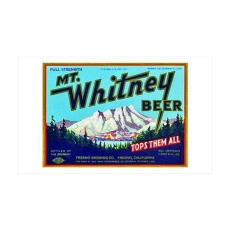 California Beer Label 7 38.5 x 24.5 Wall Peel