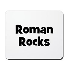 Roman Rocks Mousepad