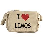 I heart limos Messenger Bag
