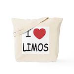 I heart limos Tote Bag