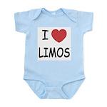 I heart limos Infant Bodysuit