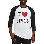 I heart limos Baseball Jersey