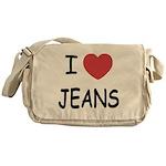 I heart jeans Messenger Bag