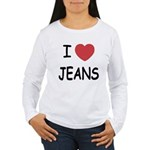 I heart jeans Women's Long Sleeve T-Shirt