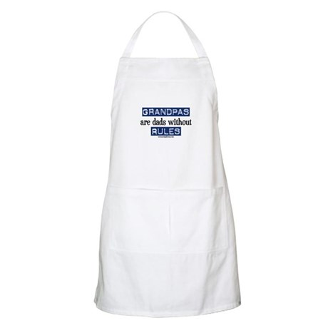Grandpas are...rules! BBQ Apron