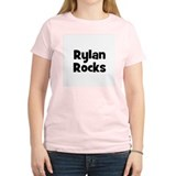Rylan Rocks Women's Pink T-Shirt