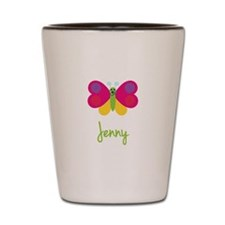 Jenny The Butterfly Shot Glass