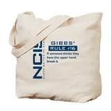 NCIS Gibbs' Rule #16 Tote Bag