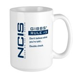 NCIS Gibbs' Rule #3 Ceramic Mugs