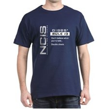 NCIS Gibbs' Rule #3 T-Shirt