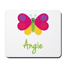 Angie The Butterfly Mousepad