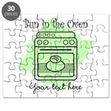 Bun in the Oven (green) Puzzle