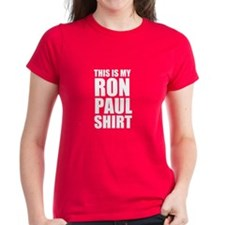 This Is My Ron Paul Shirt Tee