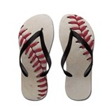 Baseball Flip Flops