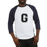 Varsity Letter G Baseball Jersey