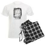 Christmas Past Men's Light Pajamas