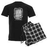 Christmas Past Men's Dark Pajamas