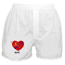 Splatter heart Boxer Shorts