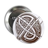 Celtic Letter Q Button