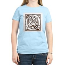 Celtic Letter O Women's Pink T-Shirt