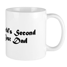 World's Second Best Dad Mug
