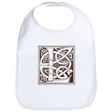 Celtic Letter L Bib