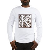 Celtic Letter K Long Sleeve T-Shirt