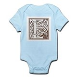 Celtic Letter E Infant Creeper