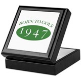 1947 Born To Golf Keepsake Box