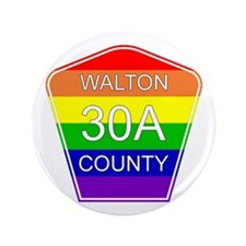 "Rainbow 30A 3.5"" Button (100 pack)"