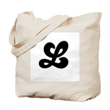 Fun Funky letter L Tote Bag