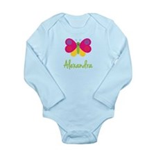 Alexandra The Butterfly Long Sleeve Infant Bodysui